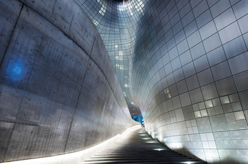 Dongdaemun Design Plaza in Korea