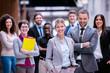 Leinwandbild Motiv business poeple group