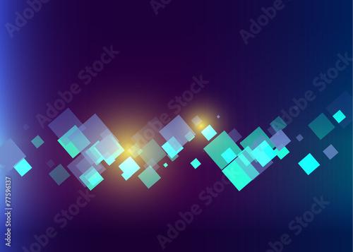 Zdjęcia na płótnie, fototapety, obrazy : abstract  technology blue color vector background