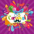 Obrazy na płótnie, fototapety, zdjęcia, fotoobrazy drukowane : Carnival Banner