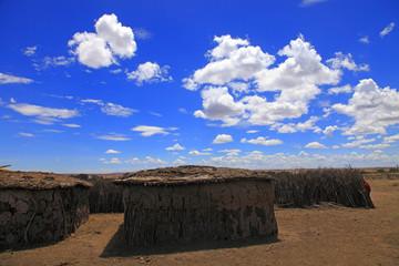 Parco Masai Mara, abitazioni