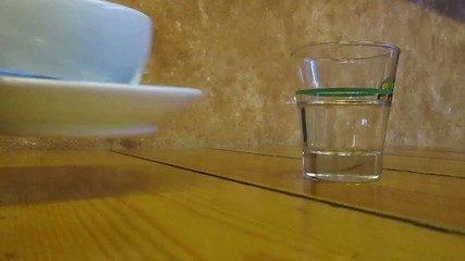 Caffe espresso servito al tavolo
