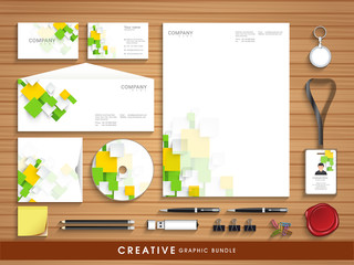 Professional corporate identity set for your business.