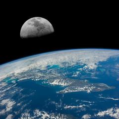 The Moon over Cuba.