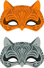 maschere gatto carnevale