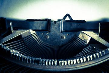 Vintage filtered image of typewriter