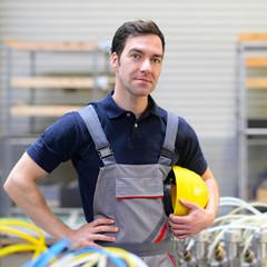 Portrait eines Industriearbeiters // Portrait of a worker