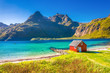 Leinwanddruck Bild - Trollfjord, Lofoten