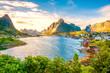Leinwandbild Motiv Reine, Lofoten