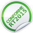 Sticker conforme RT 2015 (détouré)