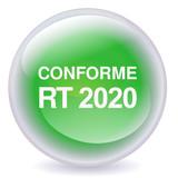 Boule de cristal conforme RT 2020 (ombre) poster