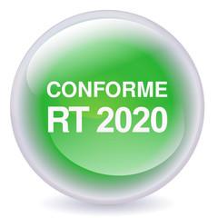 Boule de cristal conforme RT 2020 (ombre)