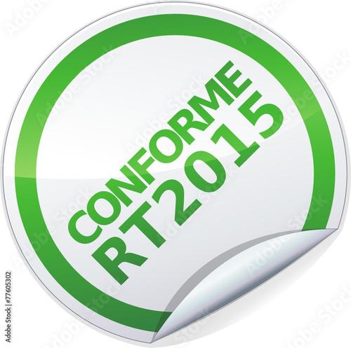 poster of Sticker conforme RT 2015 (détouré)