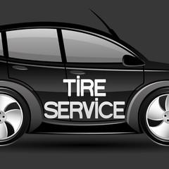 Tire service.