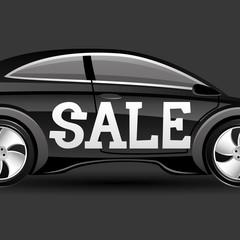 Sale car.