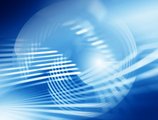 Abstract blue graphics background fo design