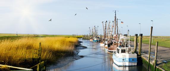 Kutterhafen in Friesland