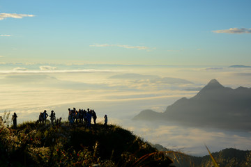 Morning mist in Thailand