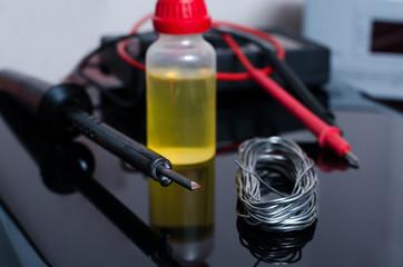 Set for soldering