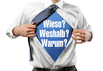 Wieso / Weshalb / Warum