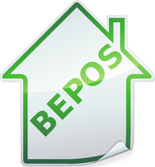 Sticker des bâtiments BEPOS ()