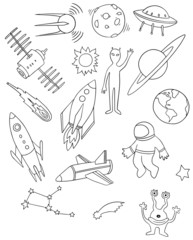 space vector drawing set
