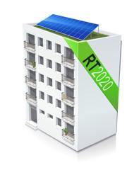 Immeuble RT 2020 (reflet)