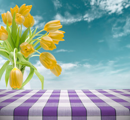Easter Table Template