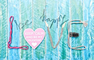 be happy love card