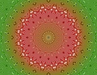 Meditation energy mandala