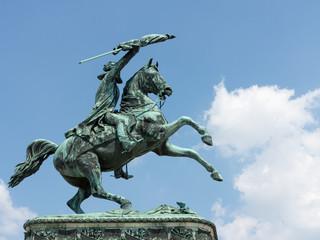 Reiterstandbild Erzherzog Karls am Wiener Heldenplatz