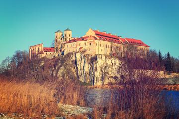 Benedictine monastery in Tyniec near Cracow, Poland.