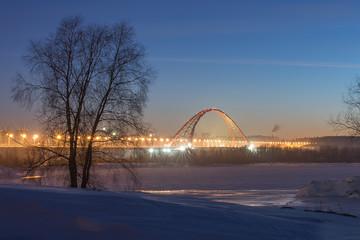 Бугринский арочный мост