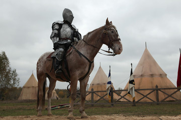 Filming of the new movie The Knights