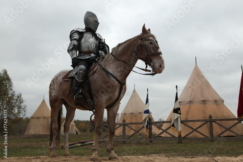 Poster Filming of the new movie The Knights