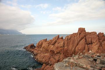 Albatrax, le rocce rosse in Sardegna