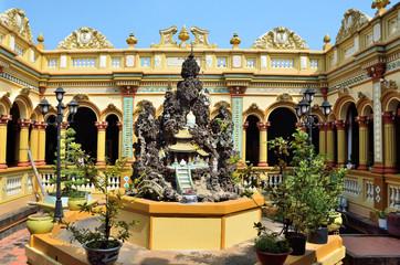 Вьетнам, монастырь в пагоде Винь Чанг