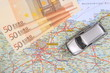 Leinwanddruck Bild - Reisekosten