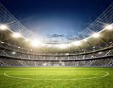 Fototapety Stadion Neutral Mittellinie