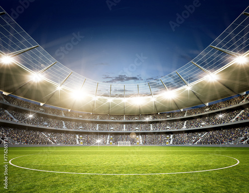 Stadion Neutral Mittellinie - 77626573