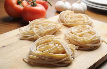 Pici Tuscan typical Tuscan pasta