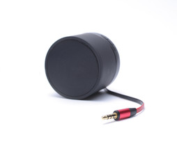 Speaker with jack connector