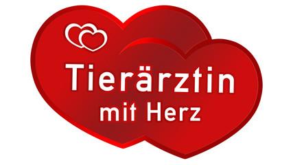lyl14 LoveYouLabel - logo - Tierärztin mit Herz - 16zu9 g3125