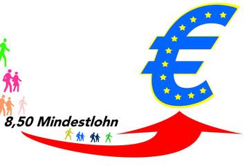 Mindestlohn Euro alle!