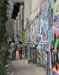 Fototapete Rue - Schweiz - Graffiti