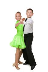 Children are dancing