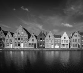 European town. Bruges Brugge, Belgium