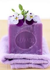Lavender soap - Lavendelseife
