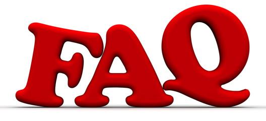FAQ. Аббревиатура из красных букв