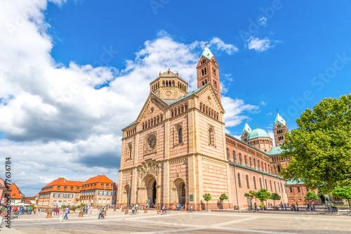 Poster Centraal Europa Dom zu Speyer